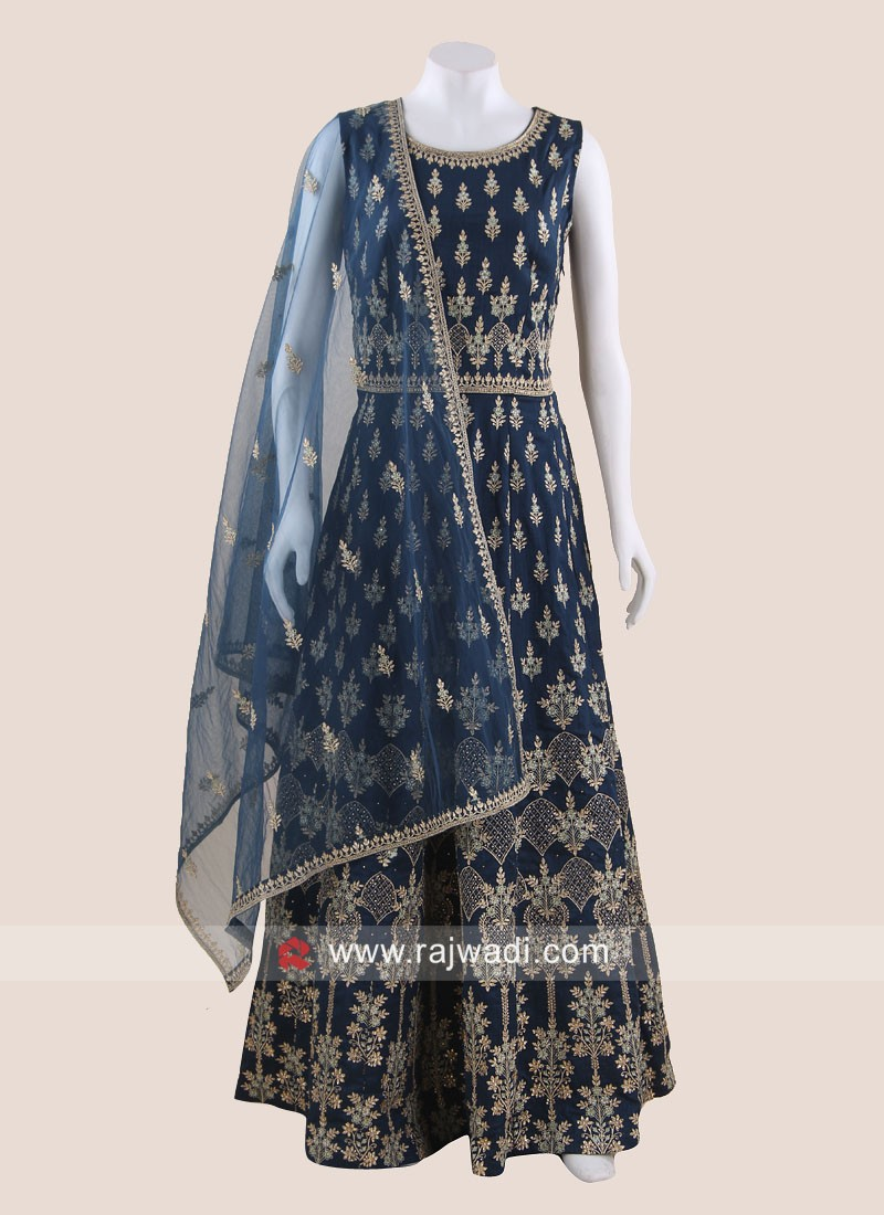 Floor Length Wedding Anarkali Salwar Kameez