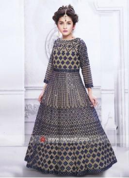 Floor Length Wedding Gown