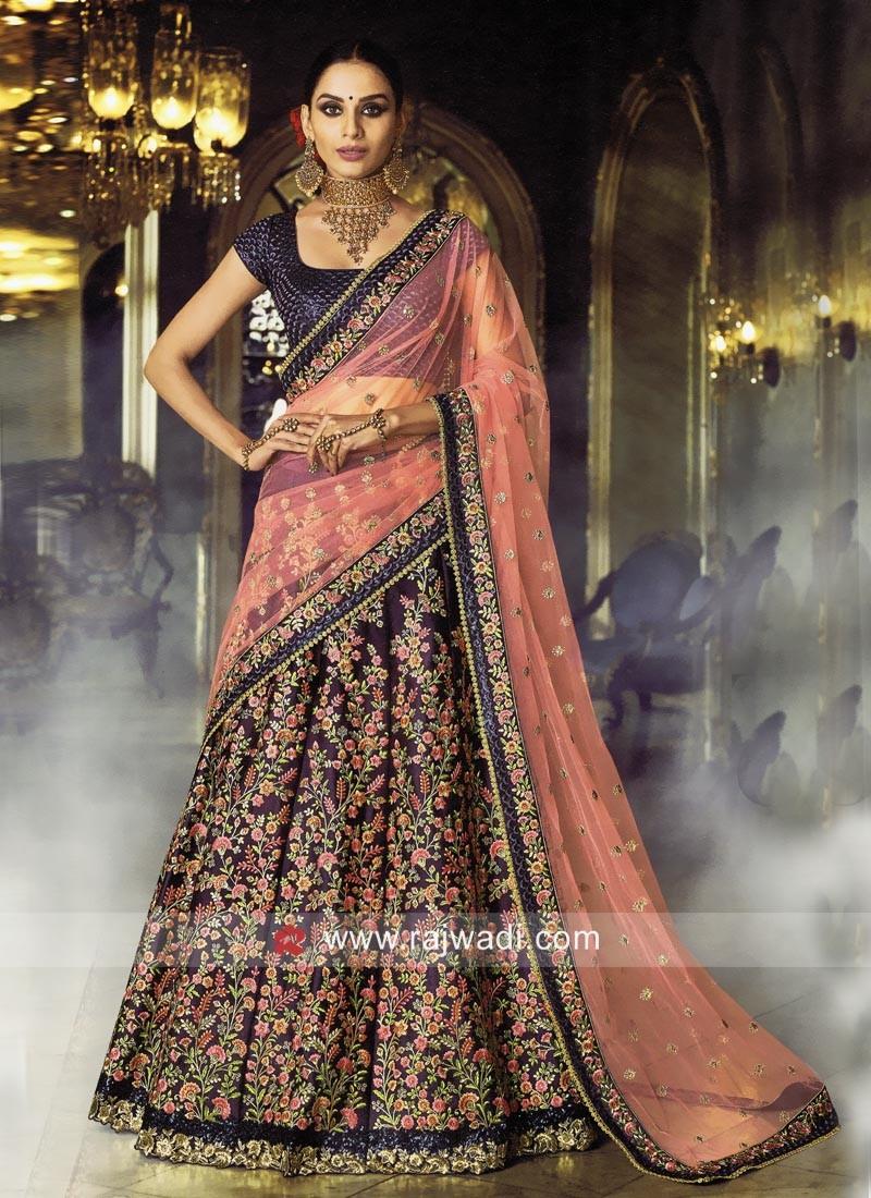 Floral Embroidery Lehenga Choli
