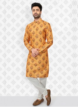 Floral Printed Kurta Pajama