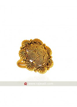 Floral Shaped Finger Ring