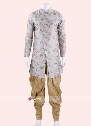 Flower Print Indo Western For Mens