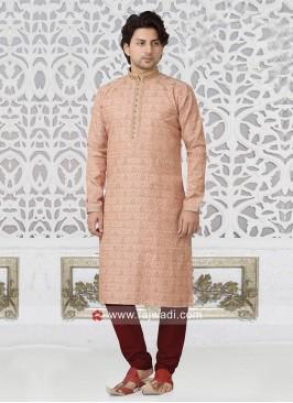 Marvelous Light Pink Kurta Pajama