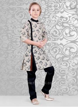 Flower Print Kurta Pajama