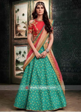 Flower Work Lehenga Choli