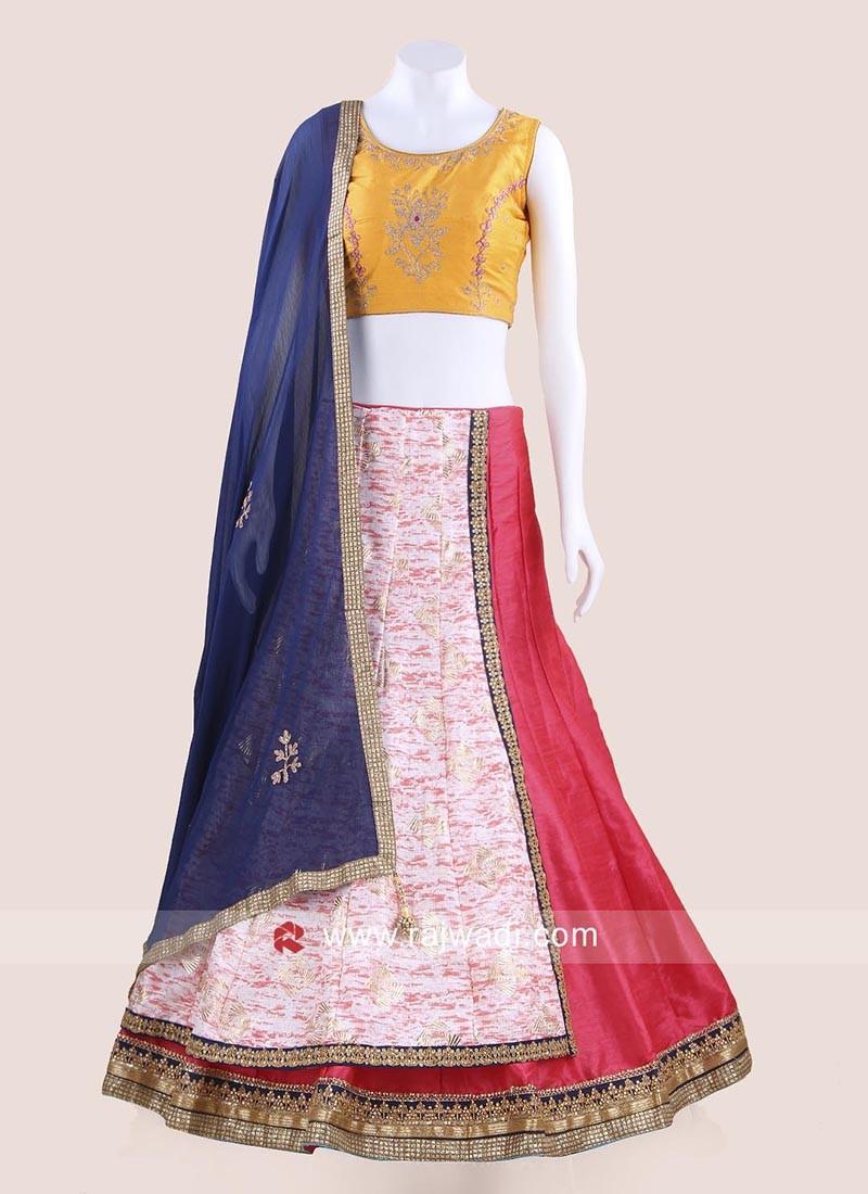 Foil Print Navratri Chaniya Choli