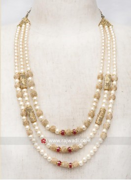 Three Line Groom Long Mala