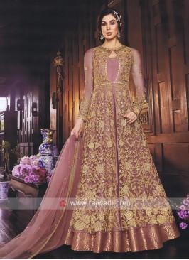 Gajari Pink Wedding Salwar Kameez