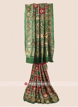 Gajji Silk Bridal Panetar Saree