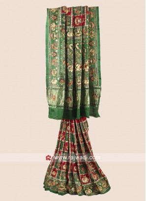 Gajji Silk Bridal Panetar Saree