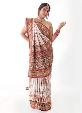 Gajji Silk Bridal Saree
