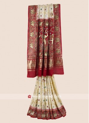 Gajji Silk Heavy Panetar for Bridal