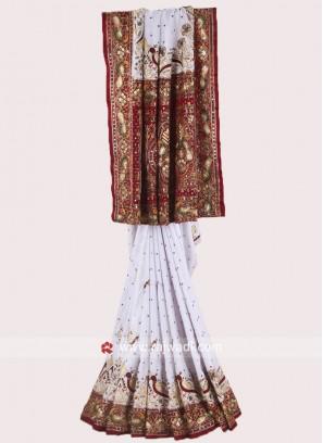 Gajji Silk Heavy Panetar Saree