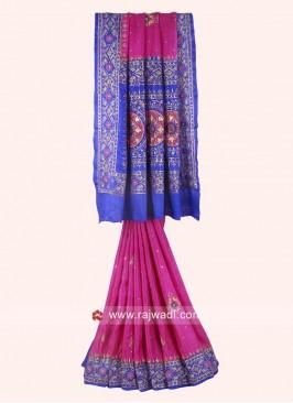 Gajji Silk Heavy Wedding Saree