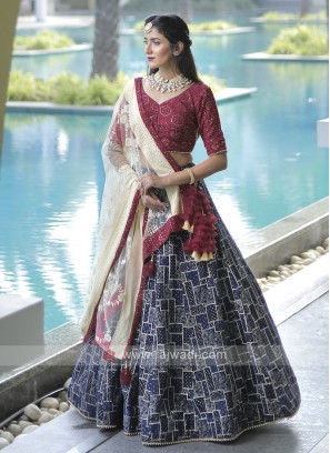 Georgeous Lucknowi Lehenga Choli