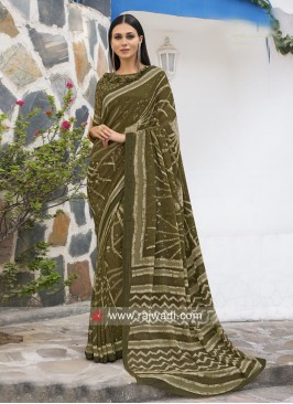 Georgette Casual Printed Saree
