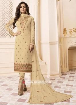 Georgette Chiffon Heavy Drashti Dhami Salwar Suit