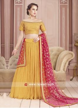 Georgette Designer Choli Suit