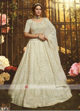 Georgette Embroidery Lehenga Choli