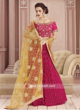 Georgette Gotapatti Work Choli Suit
