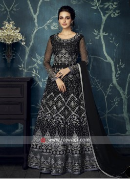 Georgette Heavy Floor Length Suit for Wedding