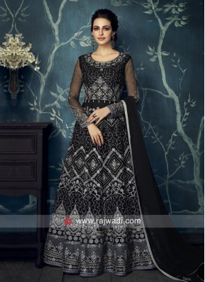 Georgette Heavy Floor Length Suit for Eid