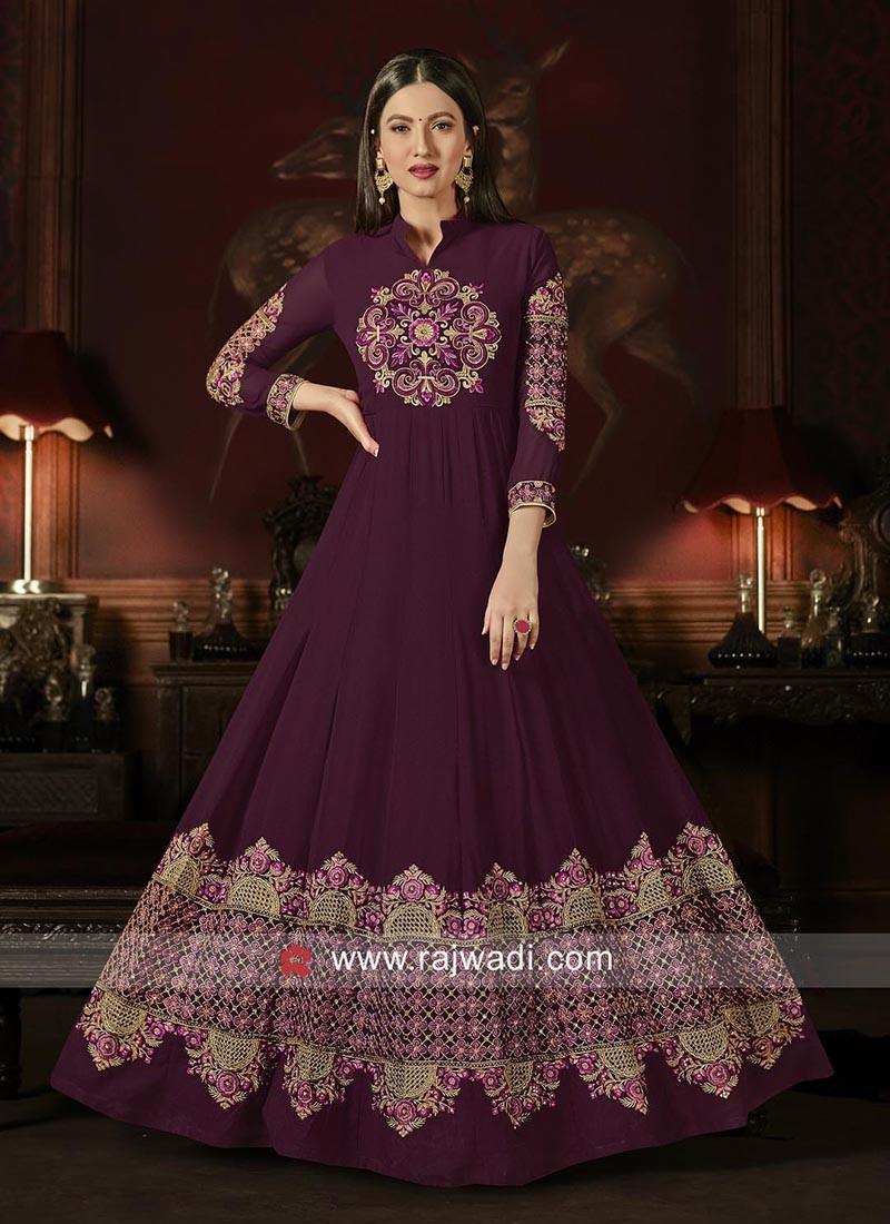 Georgette Semi Stitched Salwar Kameez