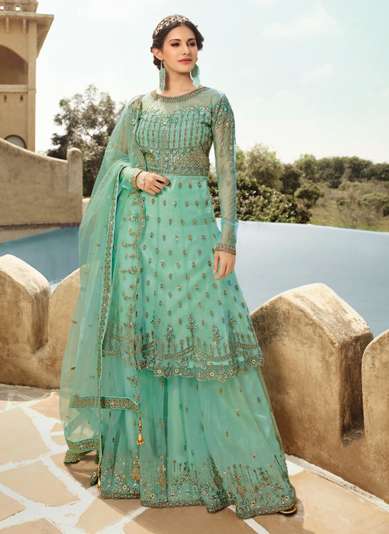 Girlish Trendy Salwar Suit For Party