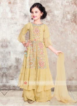 Girls Chiffon Salwar Suit