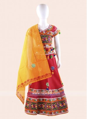 Girls Cotton Chaniya Choli