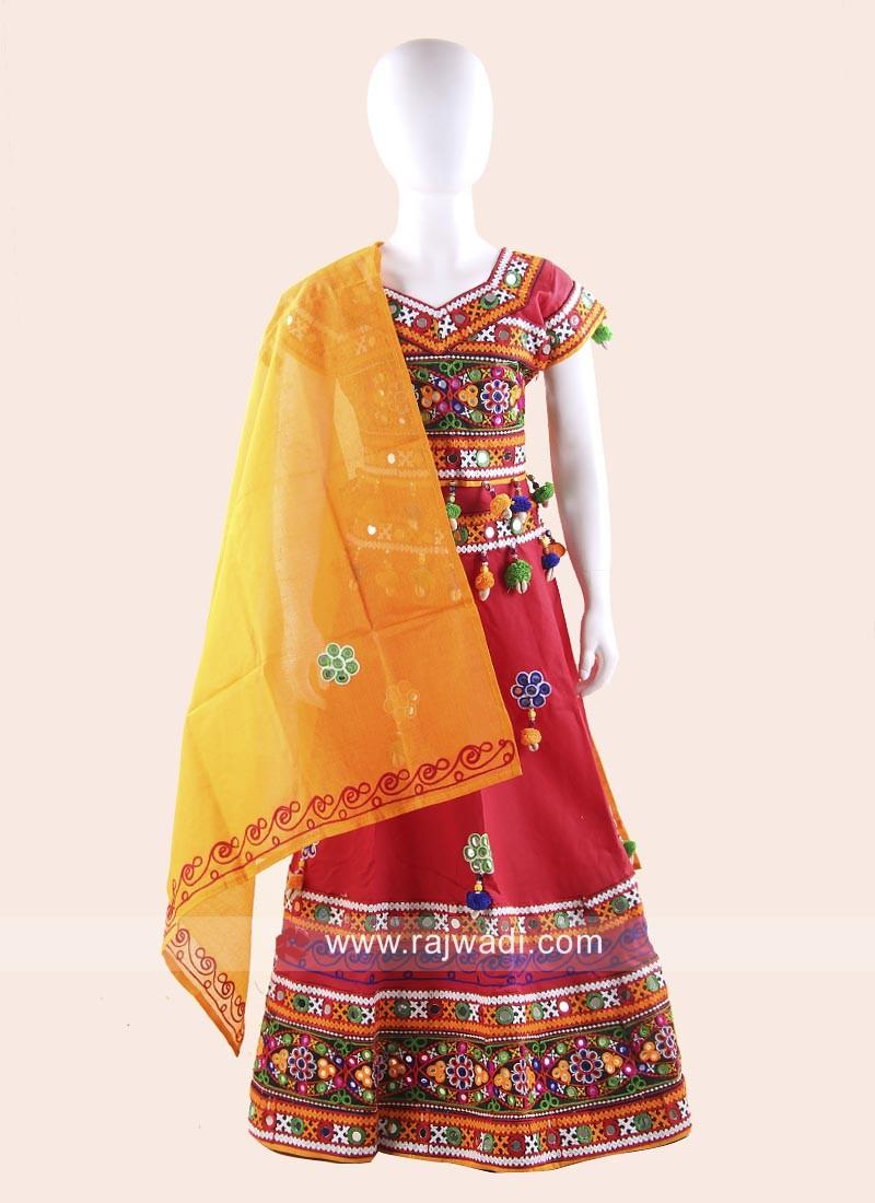 Girls Cotton Chaniya Choli