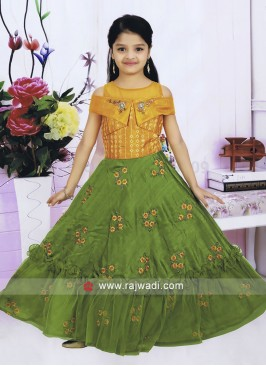 Girls Designer Choli Suit