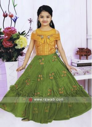 Girls Designer Choli Suit