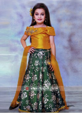 Girls Designer Wedding Choli Suit