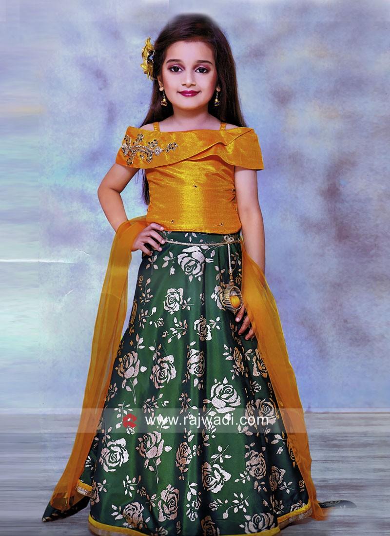 Girls Designer Wedding Choli Suit