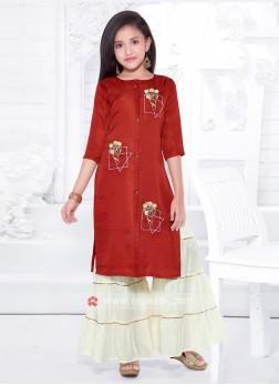 Girls Gharara Suit