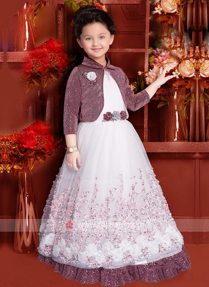Girls Koti Style Gown