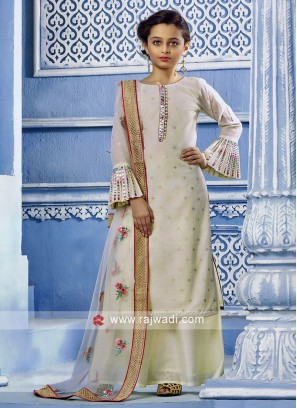 Girls Palazzo Suit with Dupatta