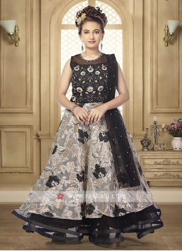 Girls satin silk lehenga choli