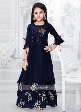Girls Silk Salwar Suit