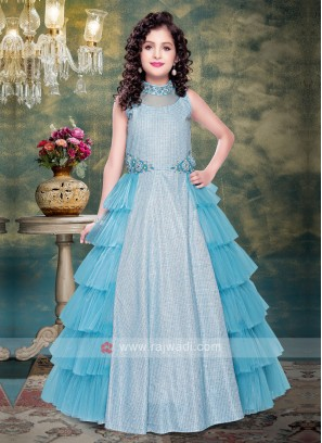 Girls Stylish Wedding Gown