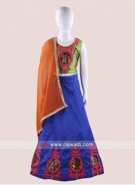 Girls Traditional Chaniya Choli