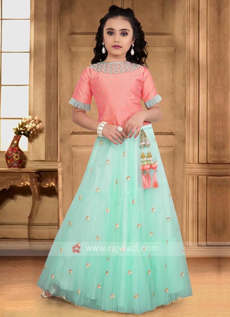 Girls Wedding Choli Suit