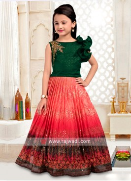 Girls Wedding Choli Suit