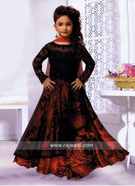 Girls Wedding Choli Suit with Dupatta