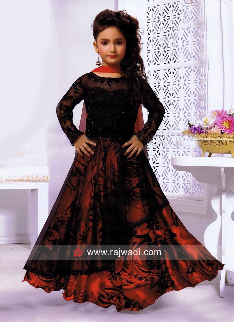 Girls Wedding Choli Suit with Dupatta