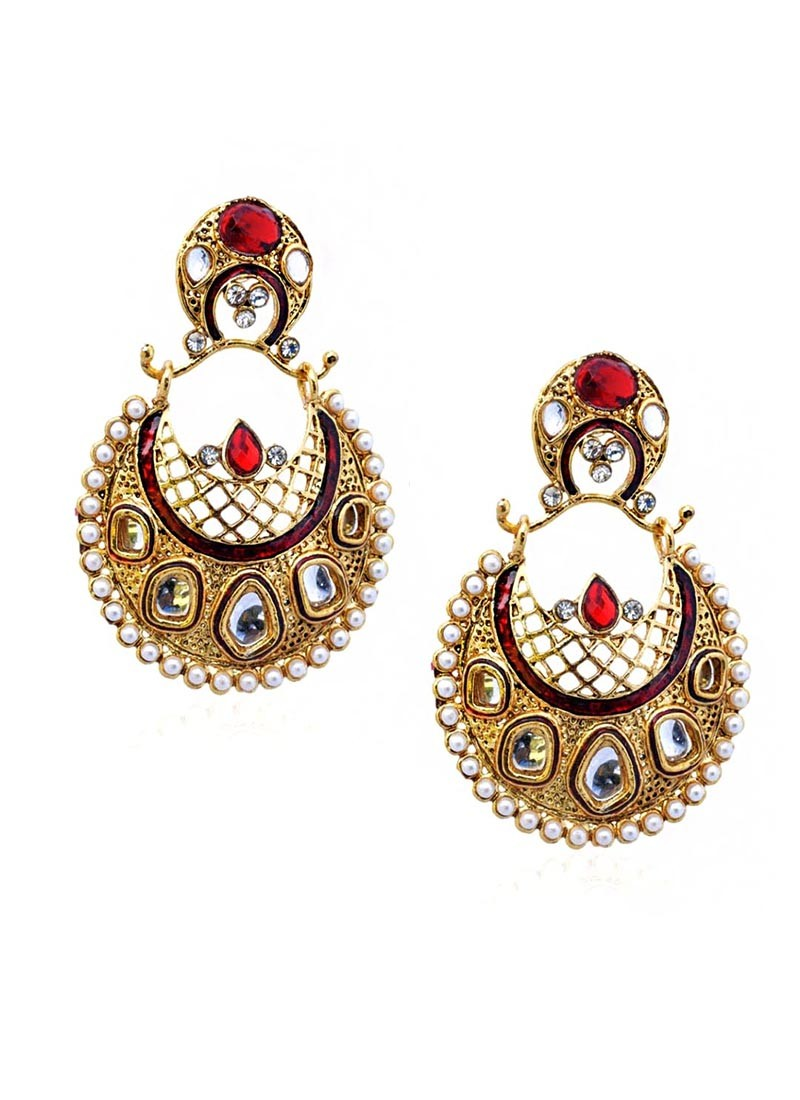 Gloomy Rich Rosy Earrings