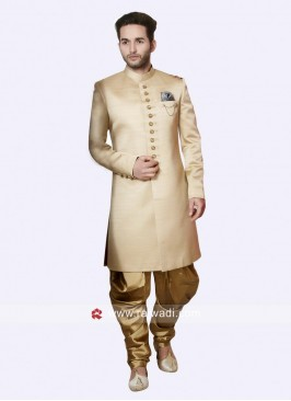 Stylish Cream Color Indo Western