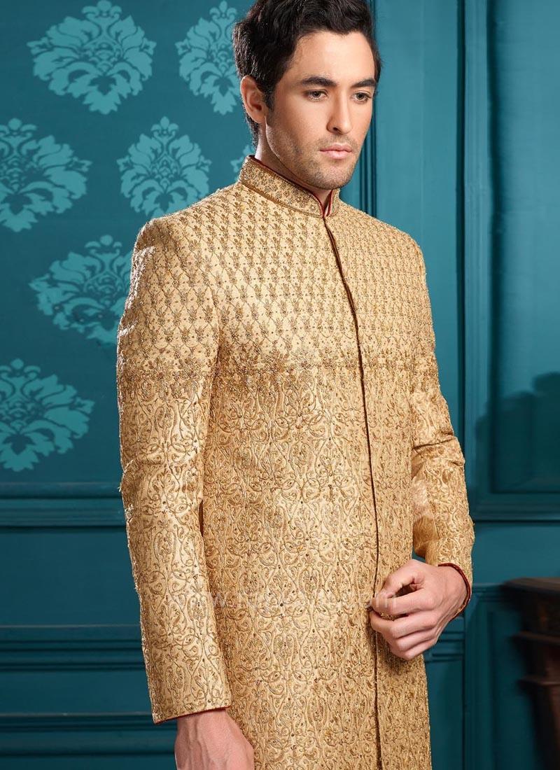 Golden Color Indo Western