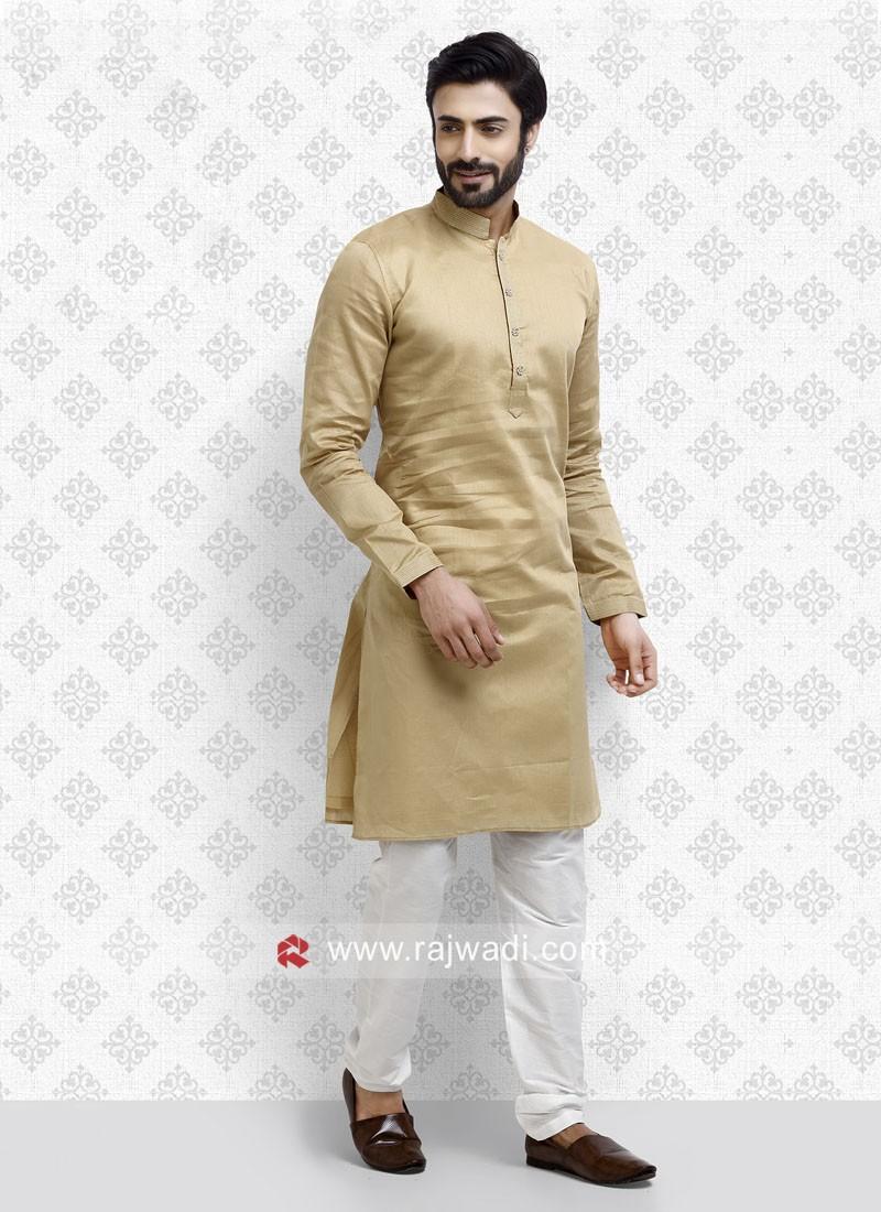 Golden Color Kurta Pajama